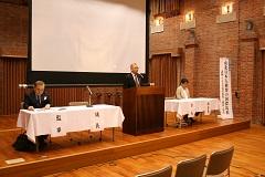 総会における黒沢会長の挨拶